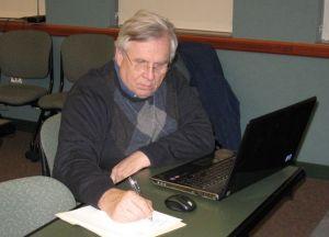 steve at work 2011 - a